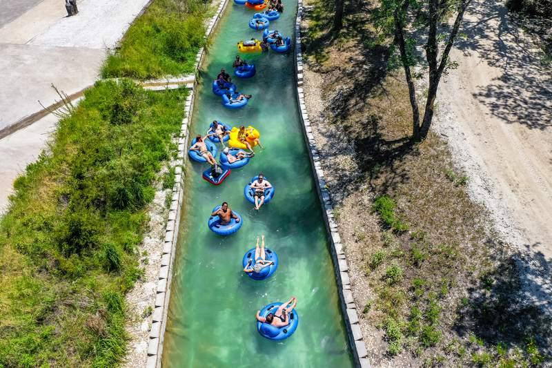 Lazy River at BSR Cable Park in Waco.