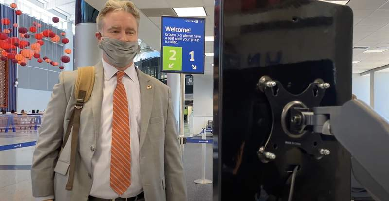 IAH launches facial recognition technology.