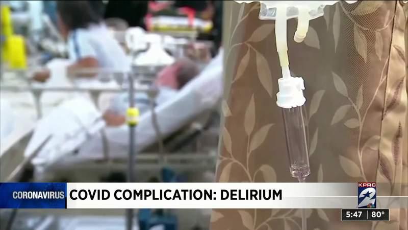 COVID complication: Delirium