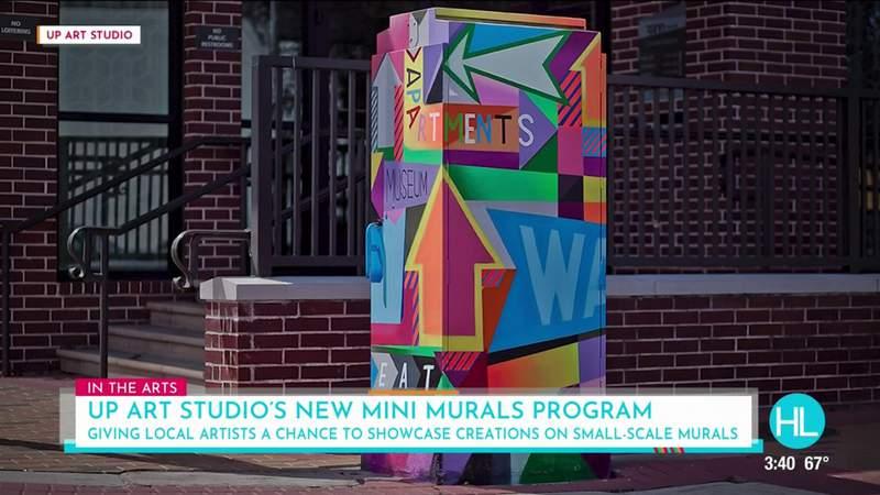 "Up Art Studio Houston's new program looking for local artists to paint ""mini murals"" | HOUSTON LIFE | KPRC 2"