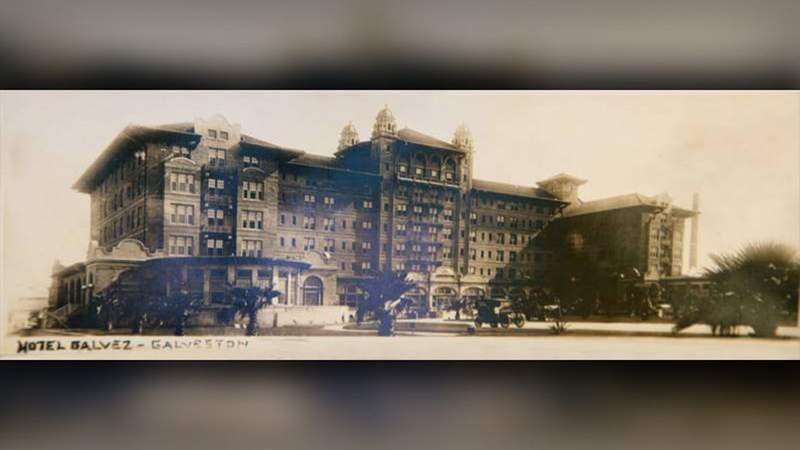 Hotel Galvez circa 1911 (Photo Courtesy: Hotel Galvez & Spa)