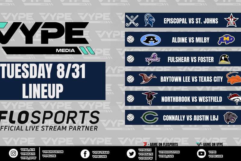 VYPE Live Lineup - Tuesday 8/31/21