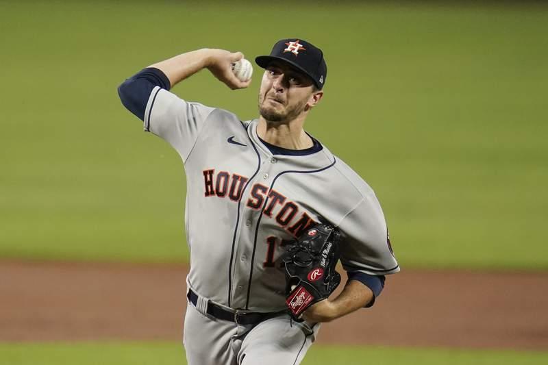 Franco's HR in 8th breaks up Houston's bid for no-hitter