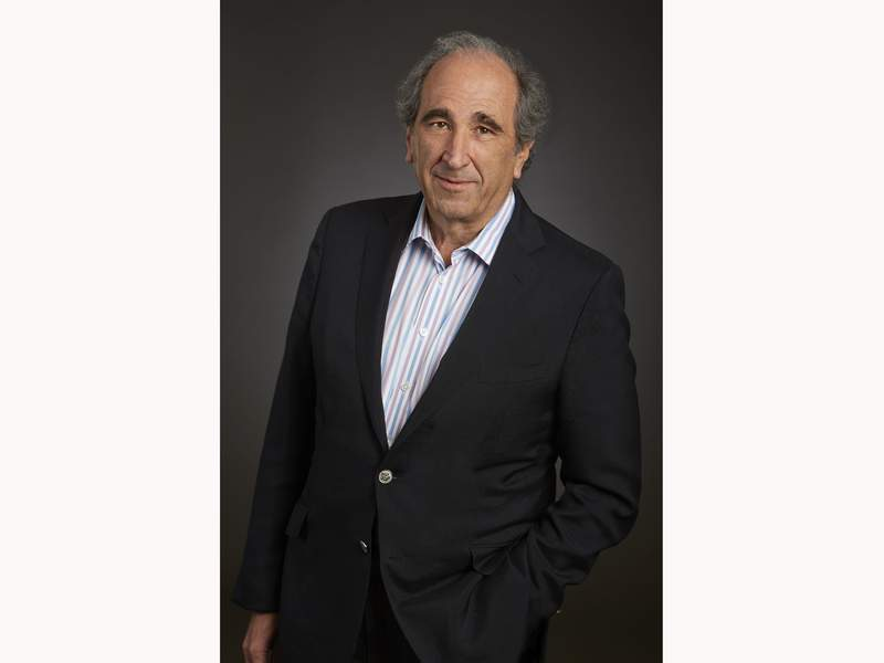 This image released by NBC shows NBC News chairman Andrew Lack in New York. NBC News chief Andy Lack is out following a corporate restructuring announced Monday that places Telemundo executive Cesar Conde in charge of NBC News, MSNBC and CNBC. Lack's departure was revealed when Jeff Shell, new NBC Universal CEO, outlined a new corporate governance plan. (Athena Torri/NBC via AP)