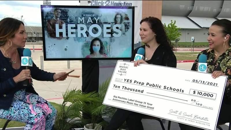 Yes Prep Public Schools awarded $10,000 for music education | HOUSTON LIFE | KPRC 2
