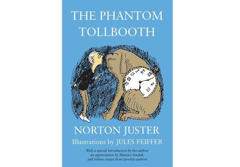 """This cover image released by Random House Childrens Books shows """"The Phantom Tollbooth"""" by Norton Juster.  The celebrated architect and childrens author who fashioned a special world of his own in The Phantom Tollbooth died at age 91. His death was confirmed Tuesday by a spokesperson for Random House Children's Books. (Random House Childrens Books via AP)"""