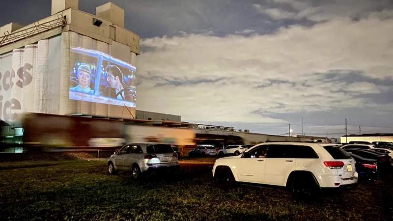 Drive-in movie experience at Rooftop Cinema Club debuts tonight