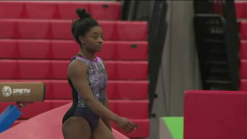 Gymnasts set their sights on Japan