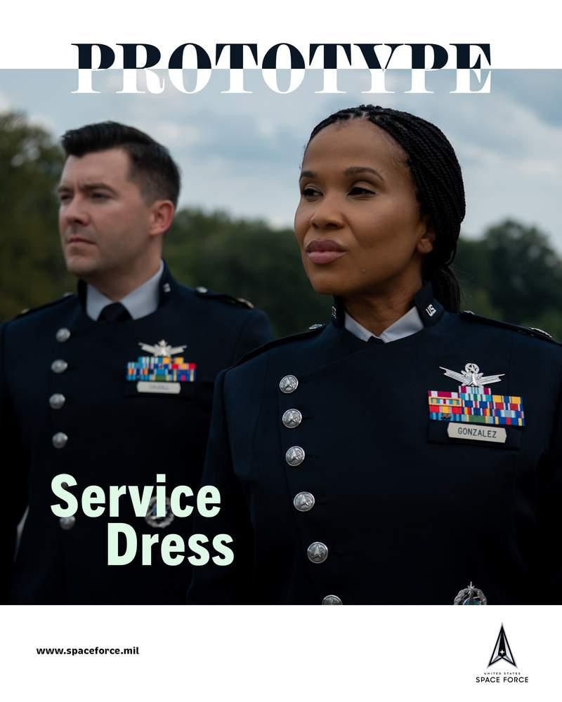 US Space Force uniform protoype.