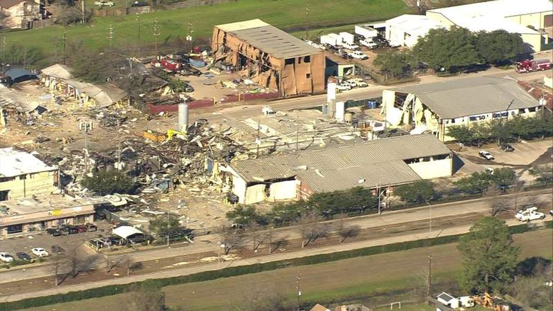 Judge grants temporary restraining order to continue blocking part of explosion site
