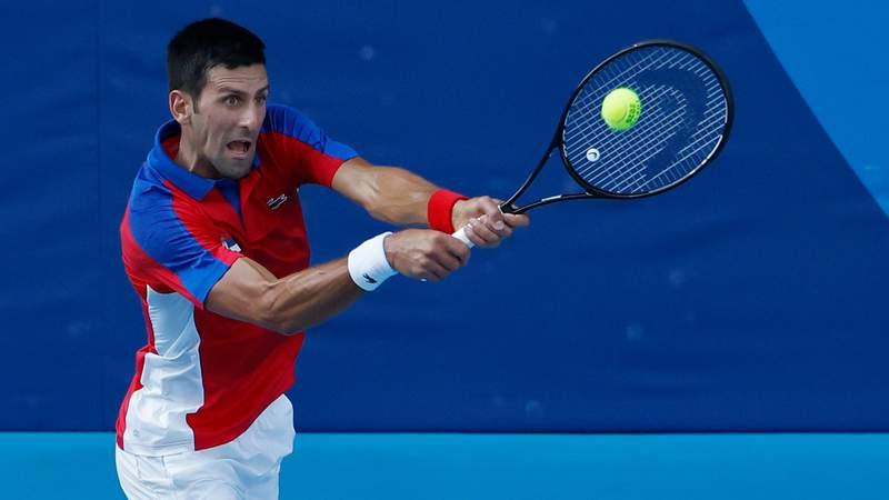 Novak Djokovic is cruising through the Olympic men's singles tournament in Tokyo.