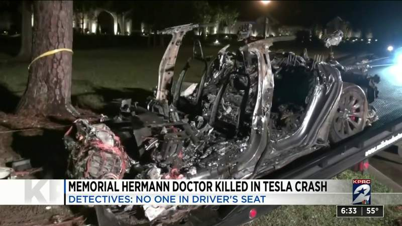 Memorial Hermann doctor killed in Tesla crash
