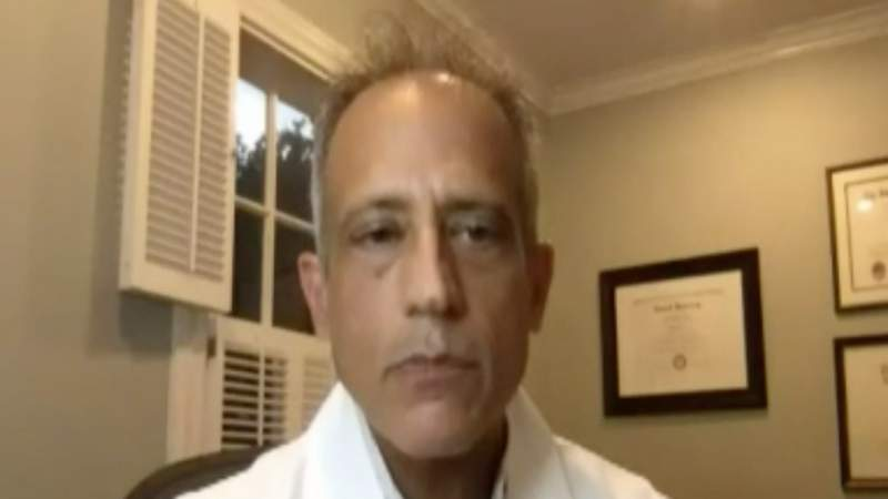 Houston doctors discuss experimental treatment used on President Trump