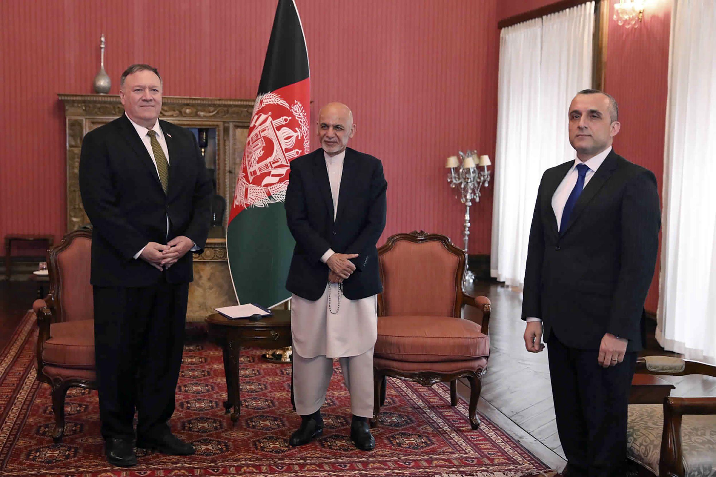 Estados Unidos avergüenza la obstinación de los líderes afganos mientras se avecina la pandemia 2