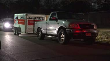 4 arrested after U-Haul full of stolen parts leads police to chop shop