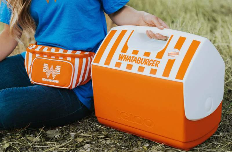 Whataburger fall merch drop now available on the website.