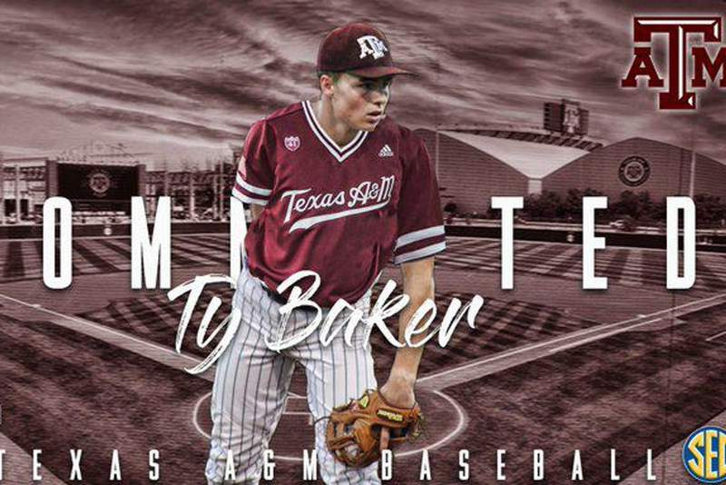 College Station-Bound: SBS junior Ty Baker commits to Aggies over summer