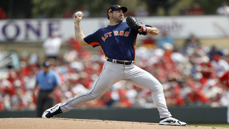 Justin Verlander will miss several weeks with forearm strain