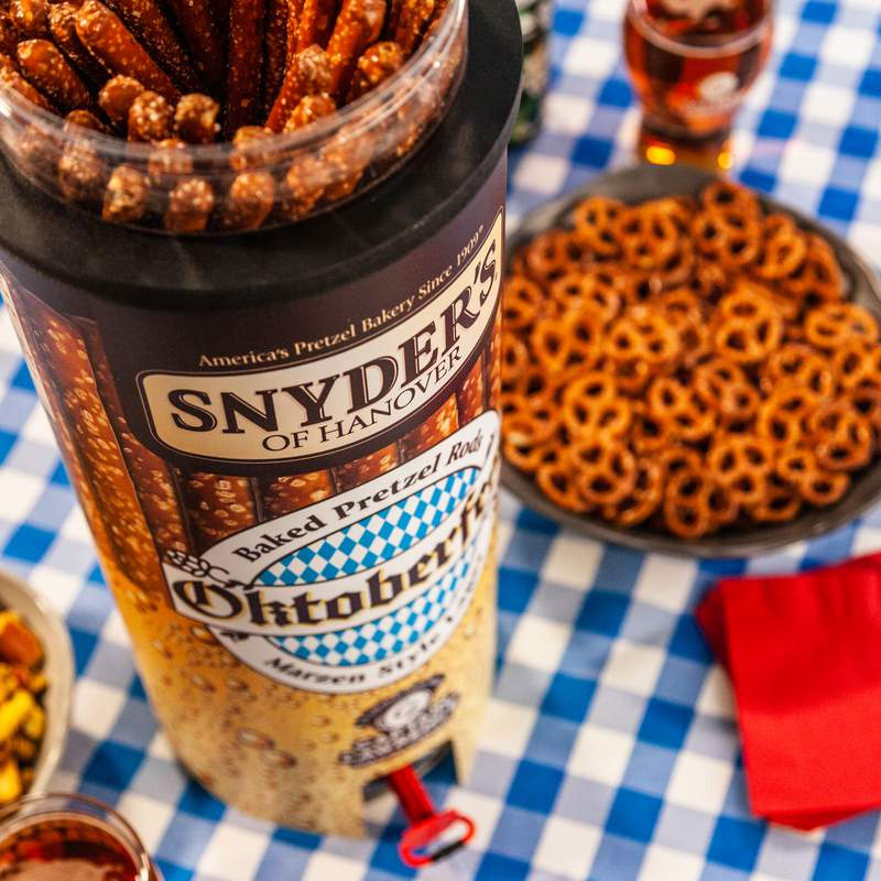 Snyder's of Hanover with Captain Lawrence Oktoberfest beer brew