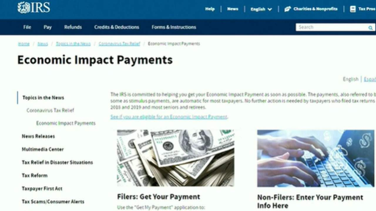 How To Check Your Stimulus Payment Status With The Irs