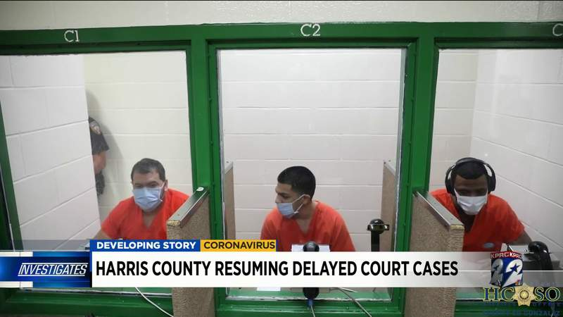 Harris County to resume delayed court cases