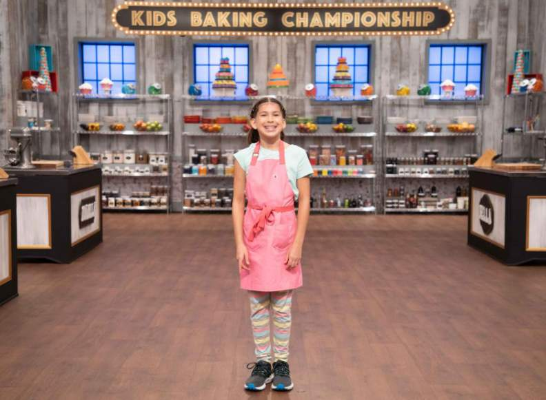 "Miabella Ramirez in ""Kids Baking Championship"""