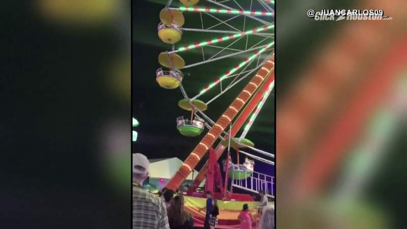 GF Default - WATCH: Metal beam falls off Ferris wheel, nearly hits people at La Marque winter festival
