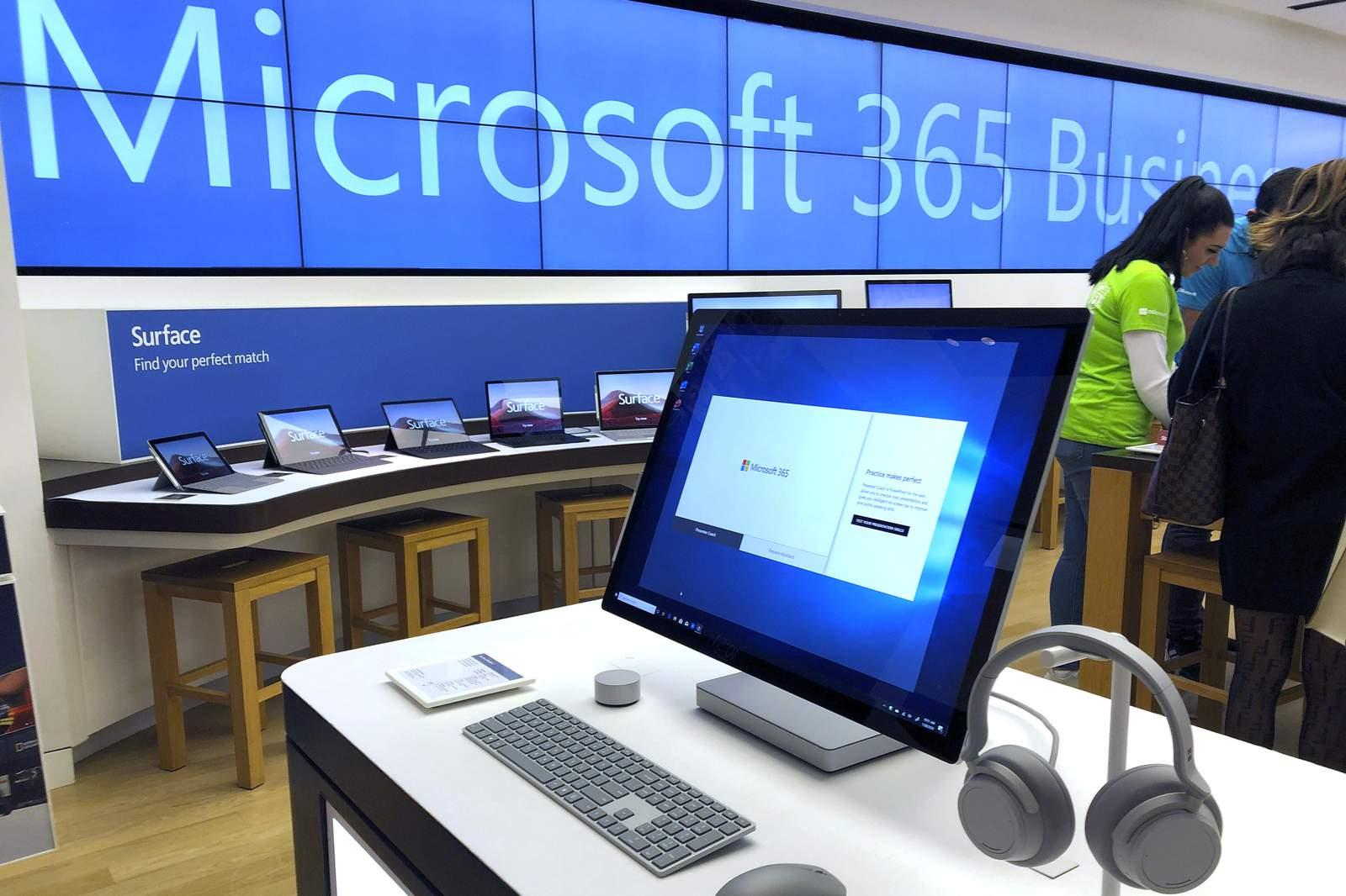 Microsoft dice que la cadena de suministro se desaceleró por un brote de virus 43