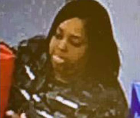 A woman accused of stealing a person's identity and open several credit cards to make purchases in Katy, Cypress area is being sought by law enforcement, according to the Friendswood Police Department Criminal Investigations.