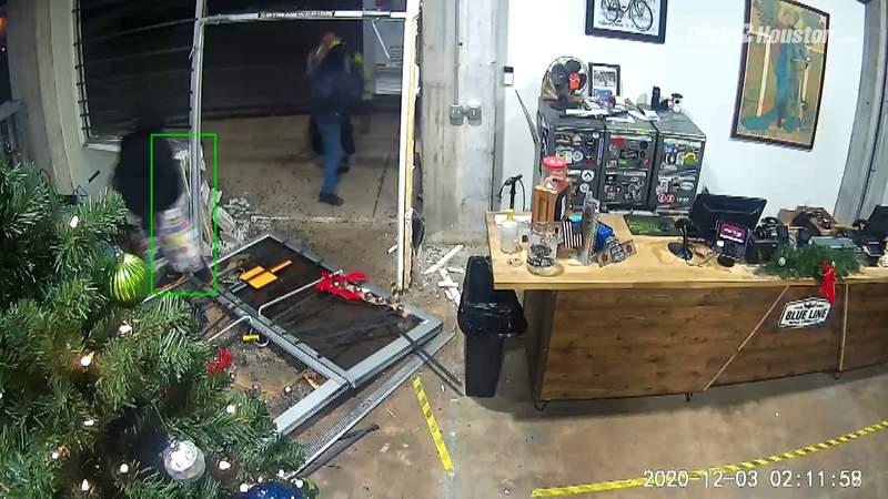 Surveillance video captures Blue Line Bike theft