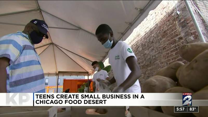 One Good Thing: Teens create small business in a Chicago food desert