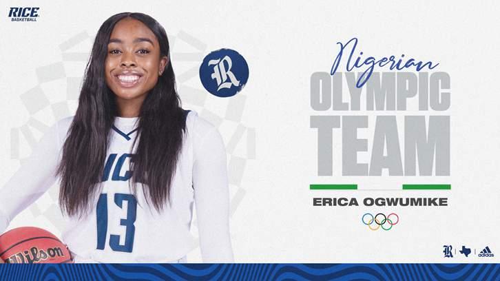 Cy Woods alum Erica Ogwumike Earns Spot on Nigerian Olympic Team