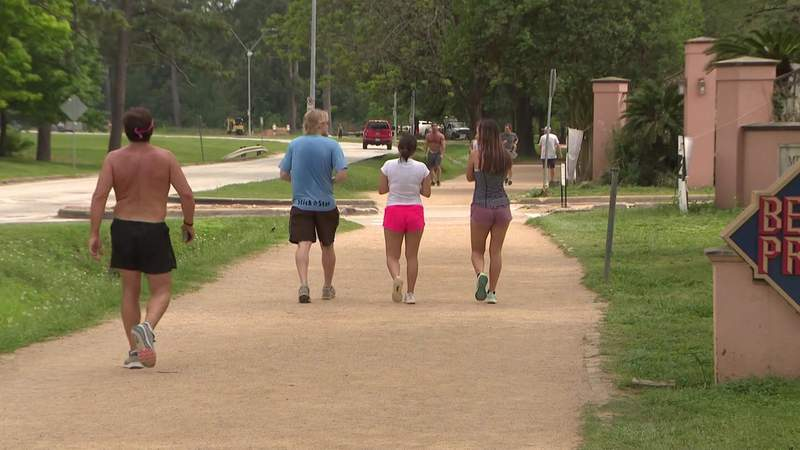 City of Houston closing all parks this weekend