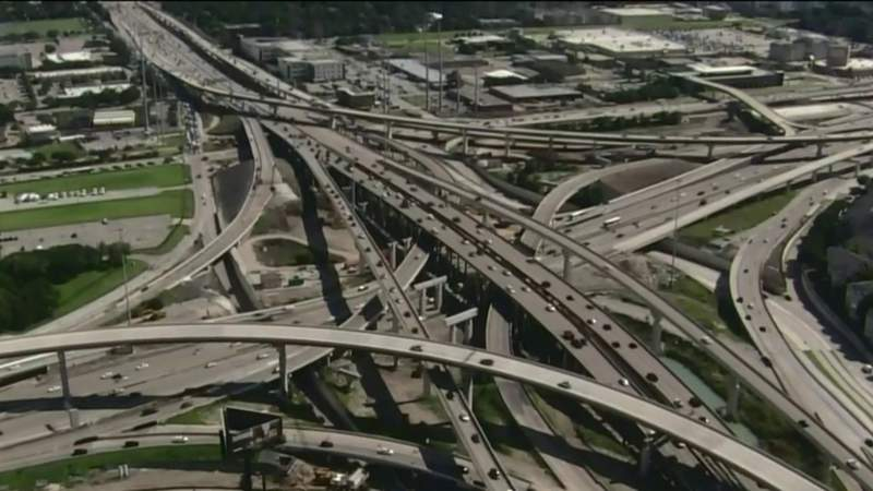 Here are the updated traffic trends for Houston highways