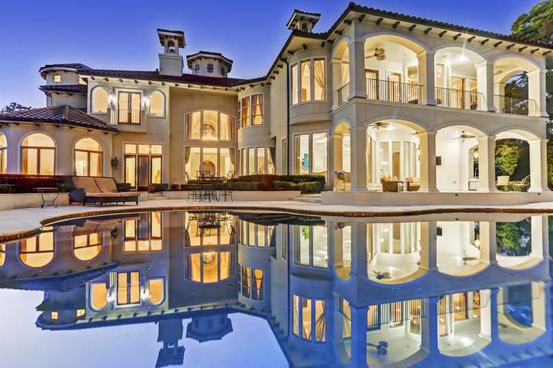 Houston area estate for sale.