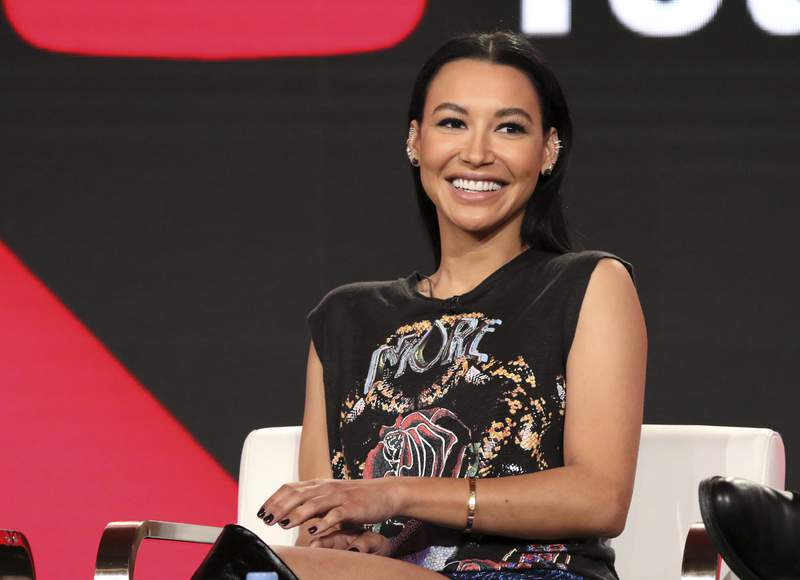 """FILE - In this Jan. 13, 2018, file photo, Naya Rivera participates in the """"Step Up: High Water"""" panel during the YouTube Television Critics Association Winter Press Tour in Pasadena, Calif. The search to find Glee"""" TV show star Rivera in a Southern California lake ended Saturday, July 11, 2020, without any results, authorities said. The Ventura County Sheriff's Office said in a tweet Saturday night that the search of Lake Piru will resume Sunday morning. Authorities said Thursday they believe Rivera drowned in the lake. Her 4-year-old son was found alone in a rented boat. (Photo by Willy Sanjuan/Invision/AP, File)"""
