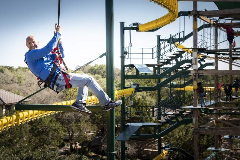 Twisted Trails Adventure Course