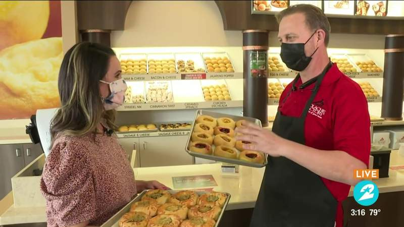 A behind-the-scenes look at how Kolache Factory makes their delicious breakfast pastries   HOUSTON LIFE   KPRC 2