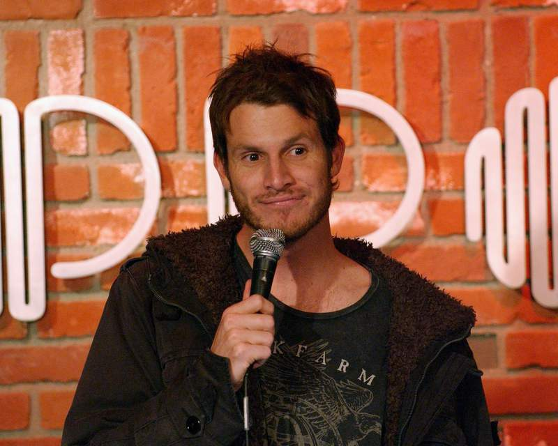 LOS ANGELES, CA - DECEMBER 12:  Daniel Tosh performs at the Hollywood Improv on December 12, 2007 in Hollywood, CA.  (Photo by Michael Schwartz/WireImage)  *** Local Caption ***