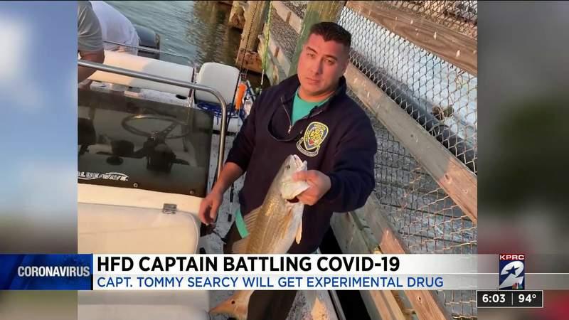 HFD Captain battling COVID-19 to get experimental drug treatment