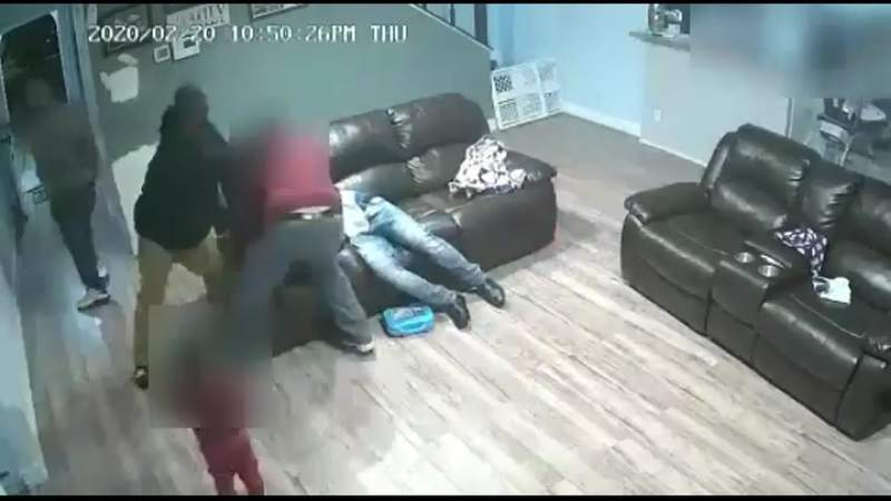 Caught on camera: Family held at gunpoint during southwest Houston home invasion