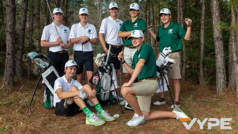 FORE! TWCA wins first-ever state golf title