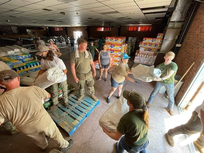 Cajun Army helping with recovery efforts after Hurricane Ida