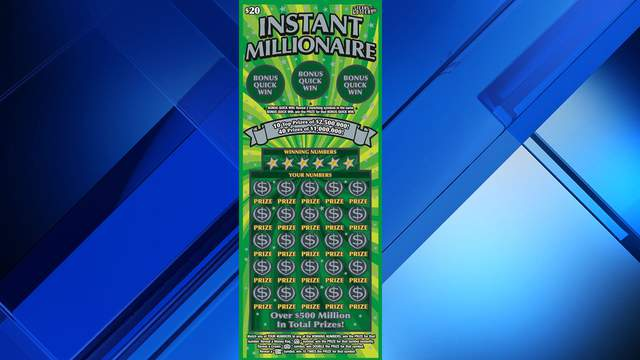 The Woodlands resident claims $1 million scratch lottery ticket