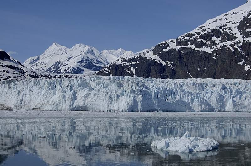 FILE - Alaska glacier mountains.