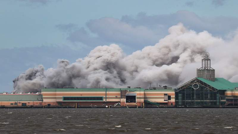 Fire reported at chemical plant in Southwest Louisiana following Hurricane Laura