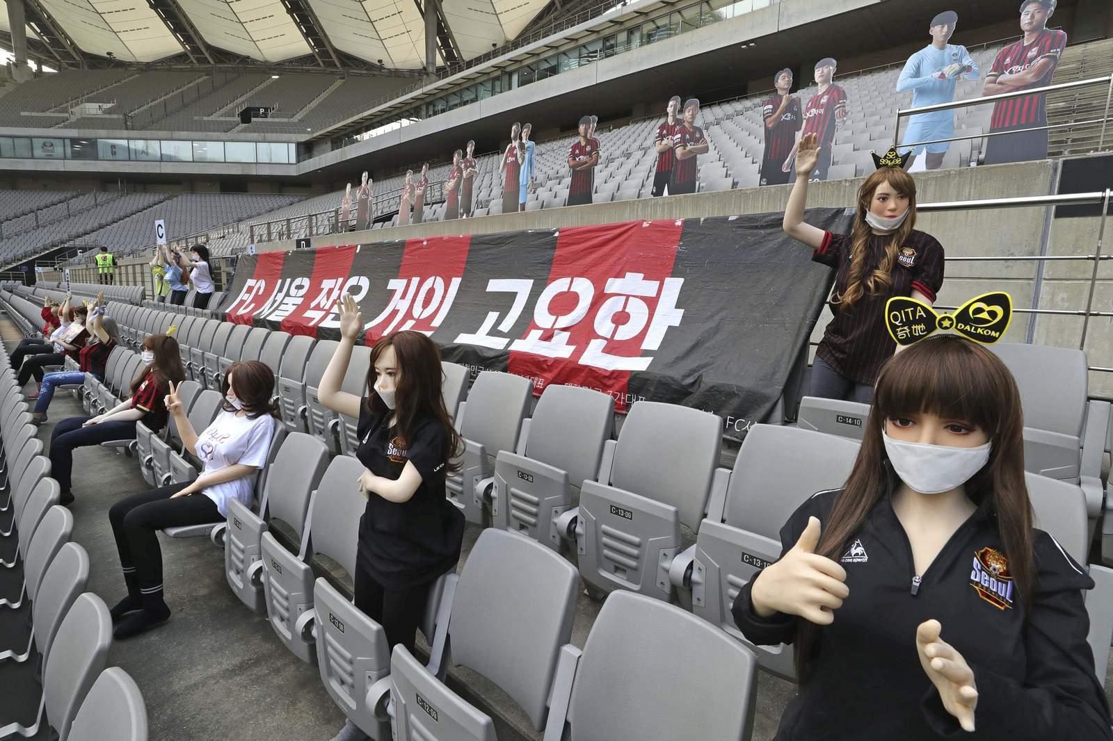 Club de fútbol coreano se disculpa por poner muñecas sexuales en asientos 11