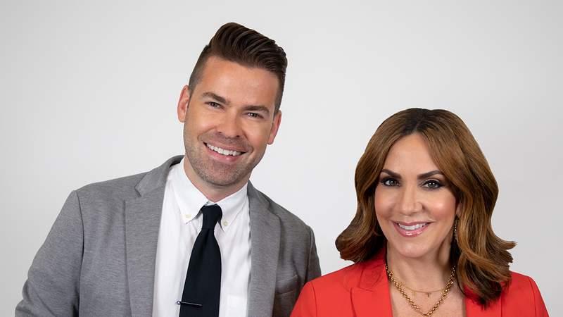 Hosts of KPRC 2's Houston Life, Derrick Shore and Courtney Zavala