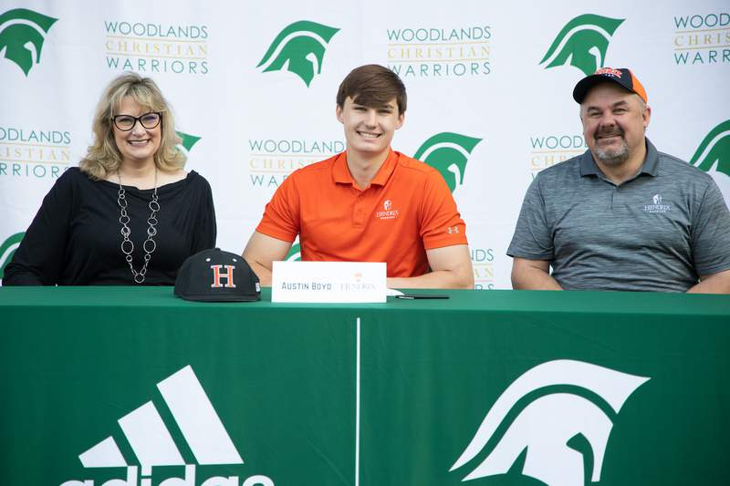 The Woodlands Christian Academy Magazine: Signing the Dotted Line, TWCA Sending Athletes to the Next Level