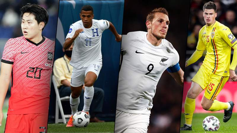Take a closer look at the rising stars and established players taking part in the wide open Group B of the Tokyo Olympics men's soccer tournament.